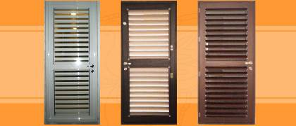 Fully Louvered door